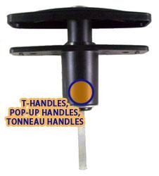 T, Pop-up or Tonneau Handles