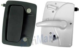 030-0900 Motor Home Entrance Door Hardware With Deadbolt
